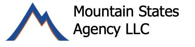 Mountain States Agency Logo